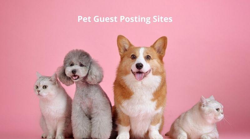 Free Pet Guest Posting Sites